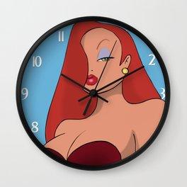 Jessica Rabbit Wall Clock