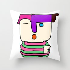 I'm Somebody Throw Pillow