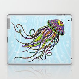 Electric Jellyfish Laptop & iPad Skin