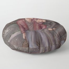 HeartRate - Minute Break Floor Pillow