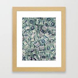 benjamins. Framed Art Print