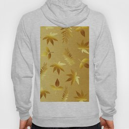 Gold leaves Hoody