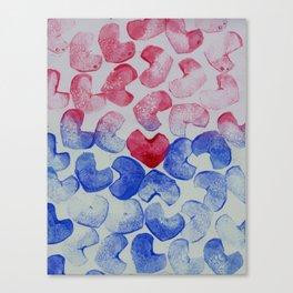 Dropped Canvas Print