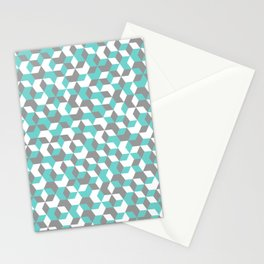 Hexagon(blue) #1 Stationery Cards