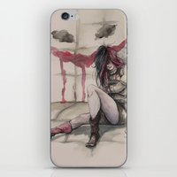 harley iPhone & iPod Skins featuring Harley by Alonzo Canto
