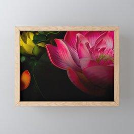 Lily pads Framed Mini Art Print