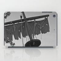pirate ship iPad Cases featuring Pirate Ship by Yellow Tie