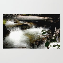 Cascades on Fall Creek in the Weminuche Wilderness, No. 1 of 2 Rug