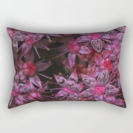Amazing pink Flowers Rectangular Pillow