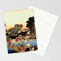 Kawasaki on the Tokaido Road Stationery Cards