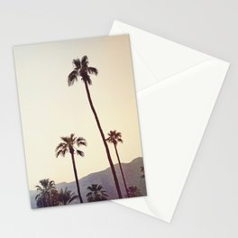Palm Trees in the Desert Stationery Cards