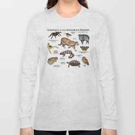 Animals of the Sonoran Desert Long Sleeve T-shirt