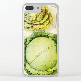 Vintage Vegetable Advertisement (1907) Clear iPhone Case