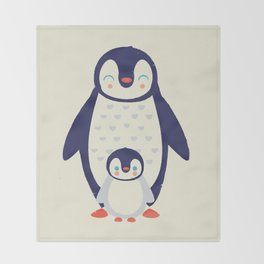 Proud Mama Throw Blanket