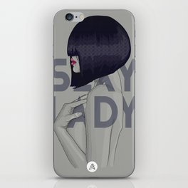Sexy LADY iPhone Skin