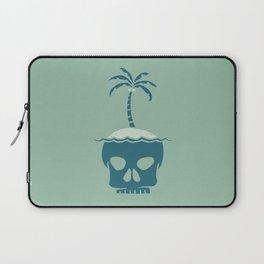 Skull Island – Green Laptop Sleeve