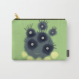Creepy Cute Spider Face Monster Carry-All Pouch