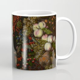 "Johnny van Haeften ""A garland of flowers and fruit"" Coffee Mug"