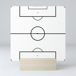 Soccer Field Mini Art Print