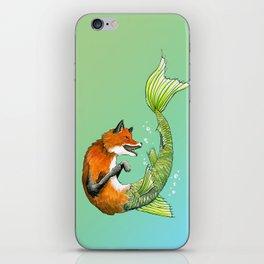 River Fox iPhone Skin