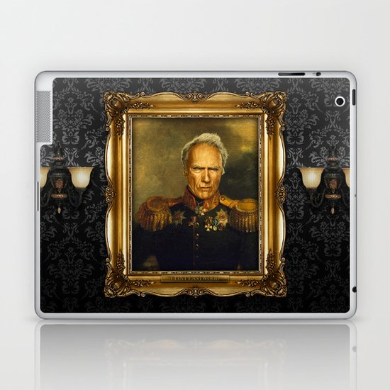 Clint Eastwood - replaceface Laptop & iPad Skin