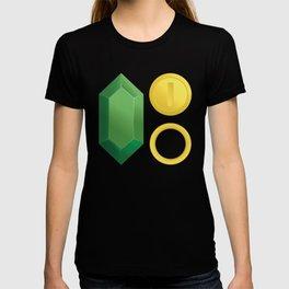 Video Game Money - Zelda, Mario, Sonic T-shirt