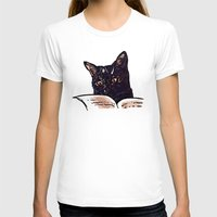 ripley T-shirts featuring Ripley Reads by Helenasia
