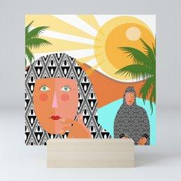 Si loin si proche Mini Art Print