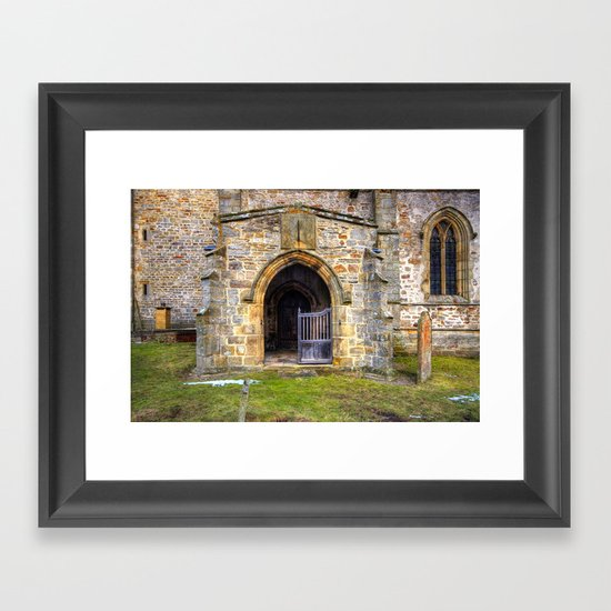 Holy Trinity Church, Wensley Framed Art Print