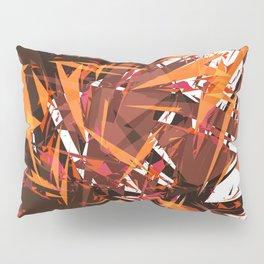red & spiky Pillow Sham
