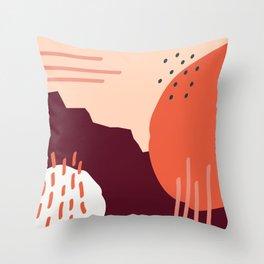 Coit Pattern 66a Throw Pillow
