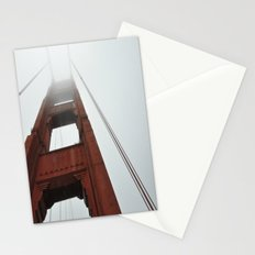 Fog on the Golden Gate Stationery Cards