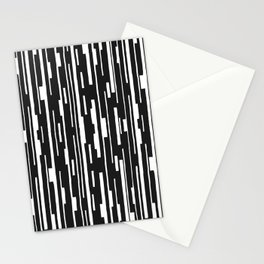 Abstract Code Stationery Cards