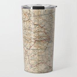 Catskill Mountains Map Travel Mug
