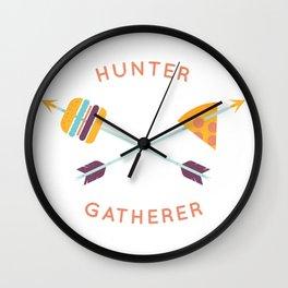 Hunter Gatherer Wall Clock