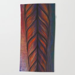 Feather Tribe Beach Towel