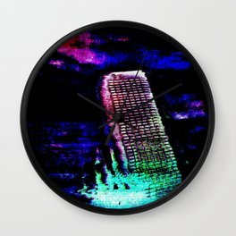 Etheric Degeneration Wall Clock