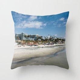 Oceanside Landscape 2 Throw Pillow