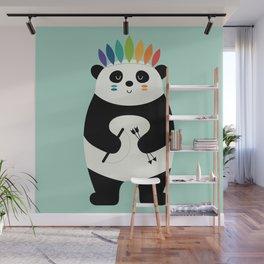 Be Brave Panda Wall Mural