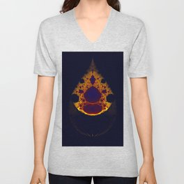 this is my coelacanth Unisex V-Neck
