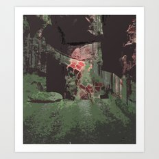 Path Eater Art Print