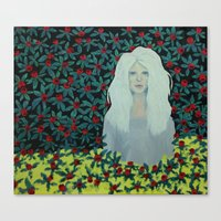 marina Canvas Prints featuring Marina. by AmelieHsieh
