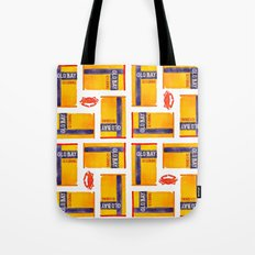Old Bay Baltimore Crab Watercolor Pattern Tote Bag