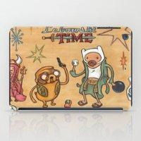 lebowski iPad Cases featuring Lebowski Time by Alex Willan
