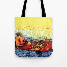 Terrarium Otter Tote Bag