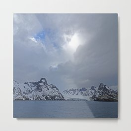 Antarctic Vista Metal Print