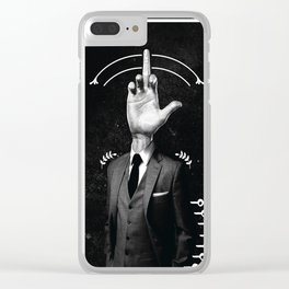 Mr.F. Clear iPhone Case