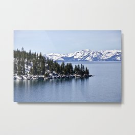 Winter in Lake Tahoe. Nevada. USA Metal Print