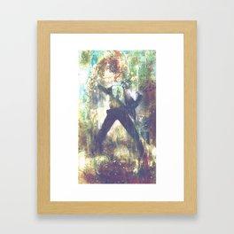 """""""Adam Flux"""" a man of change Framed Art Print"""
