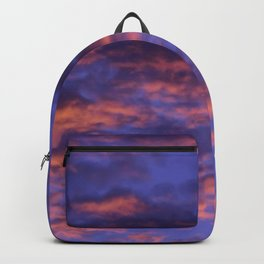 Pink and Blue Sky Backpack